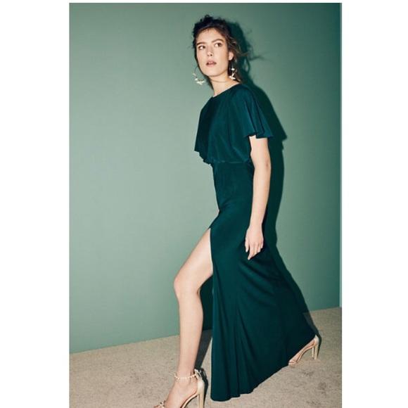 8d6f8873ead BHLDN Dresses   Skirts - BHLDN Lena Emerald Green Full Length Gown Dress